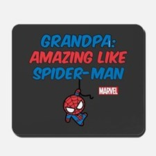 Amazing Spider-Man Grandpa Mousepad