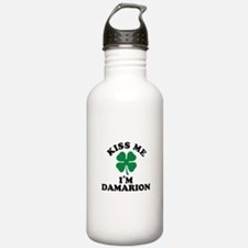 Kiss me I'm DAMARION Water Bottle