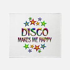 Disco Happy Throw Blanket