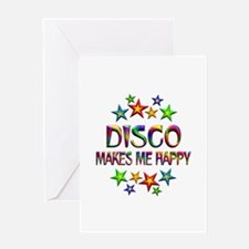 Disco Happy Greeting Card