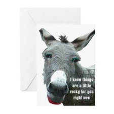 TIMES ARE ROUGH Greeting Cards (Pk of 10)