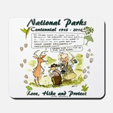 National Parks Centennial Mousepad