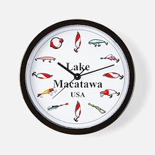 Lake Macatawa Clocks Wall Clock