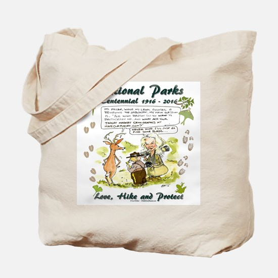 National Parks Centennial Tote Bag
