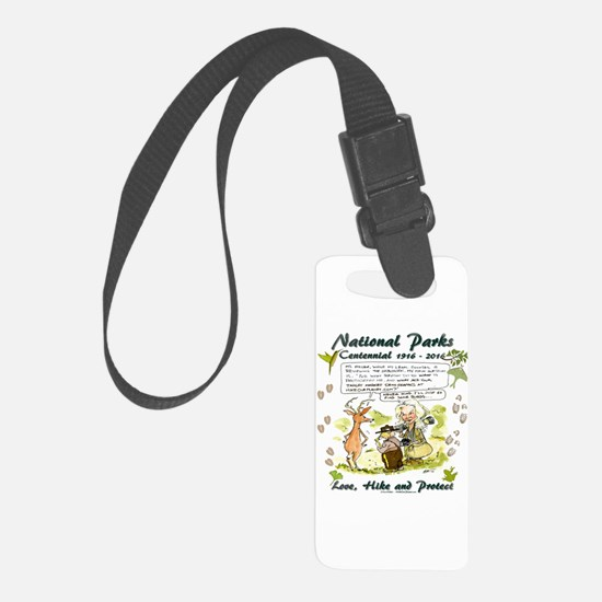 National Parks Centennial Luggage Tag