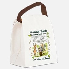 National Parks Centennial Canvas Lunch Bag