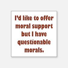 Moral Support Sticker