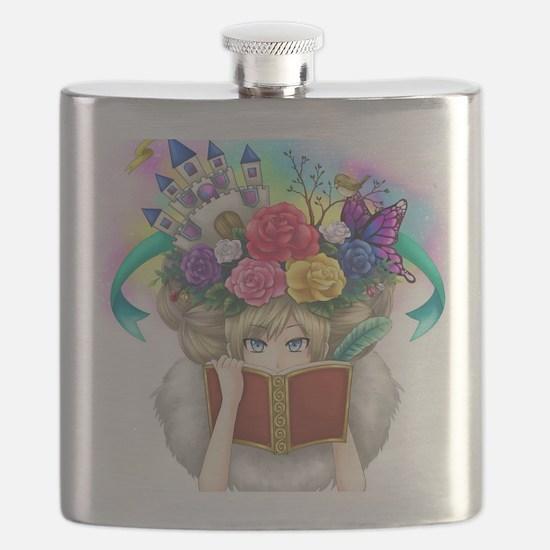 Cute Readers Flask