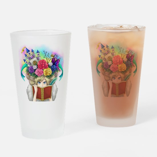 Cute Readers Drinking Glass