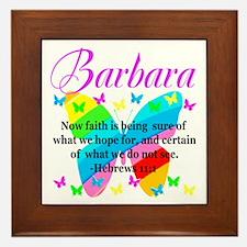 HEBREWS 11:1 Framed Tile