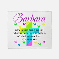 HEBREWS 11:1 Throw Blanket