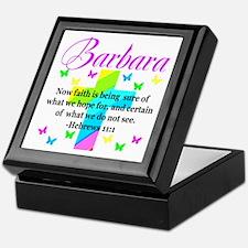 HEBREWS 11:1 Keepsake Box