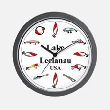 Lake Leelanau Clocks Wall Clock