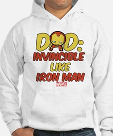 Invincible Iron Man Dad Hoodie