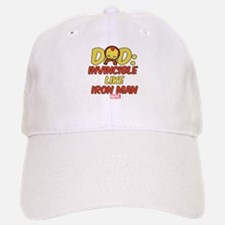 Invincible Iron Man Dad Baseball Baseball Cap