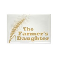 The Farmer's Daughter Rectangle Magnet