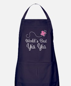 Worlds Best Yia Yia Apron (dark)