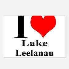I heart Lake Leelanau Postcards (Package of 8)