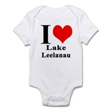 I heart Lake Leelanau Infant Bodysuit