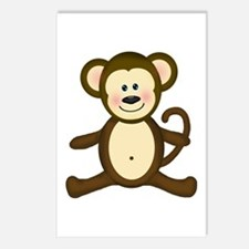 Smiling Baby Monkey Postcards (Package of 8)