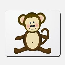 Smiling Baby Monkey Mousepad