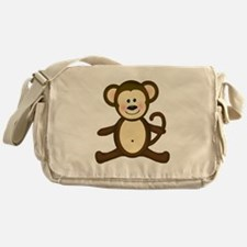 Smiling Baby Monkey Messenger Bag