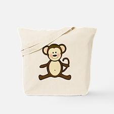 Smiling Baby Monkey Tote Bag