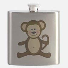Smiling Baby Monkey Flask