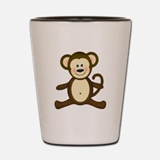 Smiling Baby Monkey Shot Glass