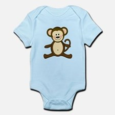 Smiling Baby Monkey Body Suit