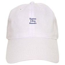 Happiness is being Alessandro Baseball Cap