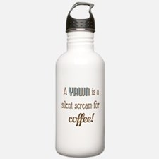 Silent Scream for Coffee Water Bottle