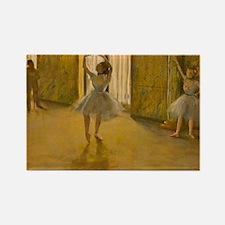 Famous Paintings: Degas' Ballet Lesson Magnets