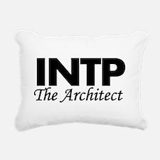 INTP | The Architect Rectangular Canvas Pillow