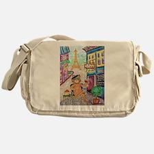 Jazz Cat Messenger Bag