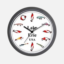 Lake Erie clocks Wall Clock