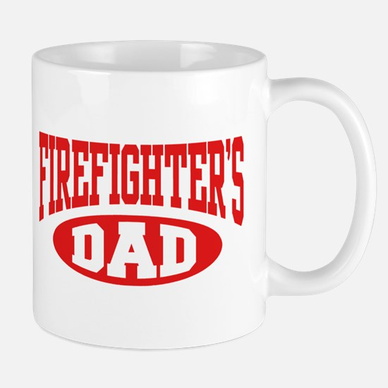 Firefighter's Dad Mug