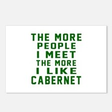 I Like Cabernet Postcards (Package of 8)