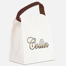 Cute Collin Canvas Lunch Bag