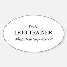 Dog Trainer Decal