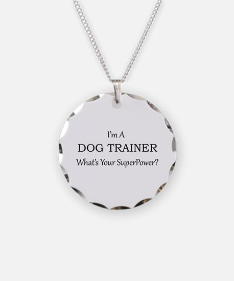 Dog Trainer Necklace