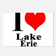 I heart Lake Erie Postcards (Package of 8)