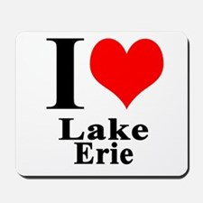 I heart Lake Erie Mousepad