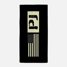 U.S. Air Force: Pararescue (Black Flag Beach Towel