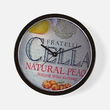 Cella Peach - Wall Clock