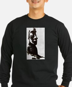 Easter Island Head Long Sleeve T-Shirt