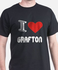 I Love Grafton City T-Shirt