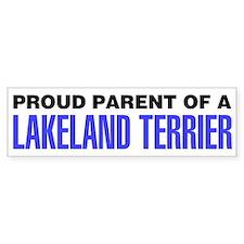 Proud Parent of a Lakeland Terrier Bumper Sticker