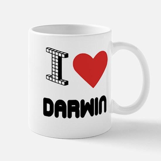 I Love Darwin City Mug
