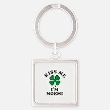 Kiss me I'm NOEMI Keychains